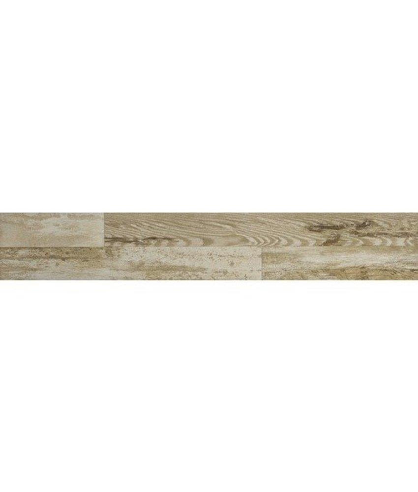 Bodenfliese Baison Beige Feinsteinzeug glasiert matt - 20 cm x 120 cm x 0,9 cm