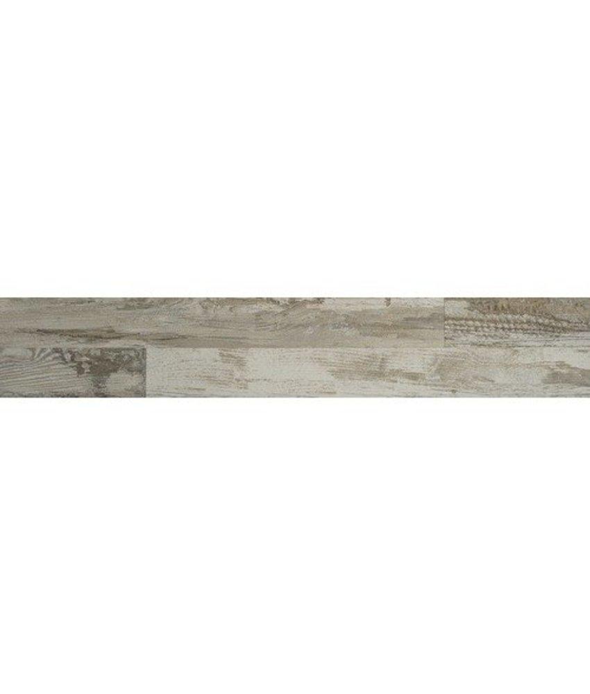 Bodenfliese Maison Gris Feinsteinzeug glasiert matt - 20 cm x 120 cm x 0,9 cm
