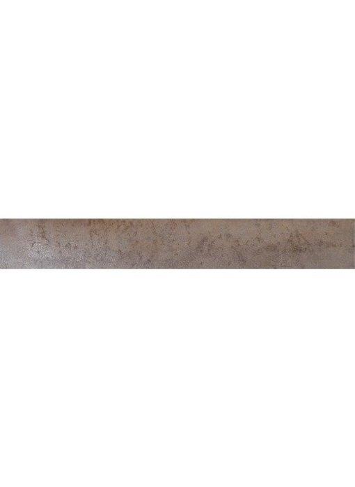Sockel Metallic Barcelona Feinsteinzeug glanzend - 7 cm x 60 cm x 1 cm