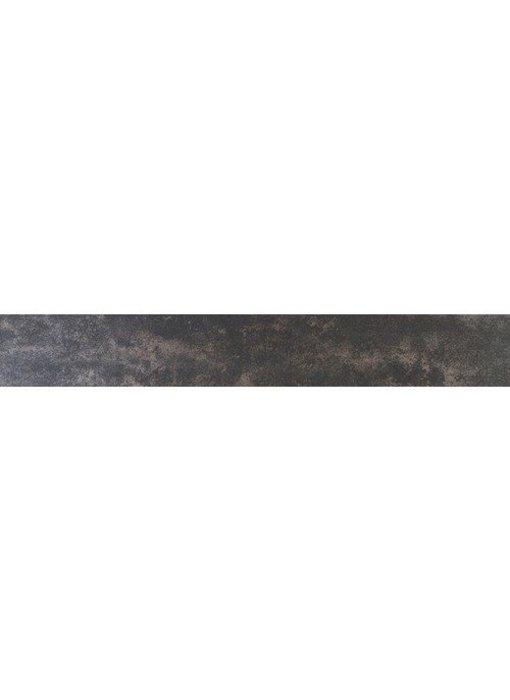 Sockel Metallic Madrid Feinsteinzeug glasiert - 7 cm x 60 cm x 1 cm
