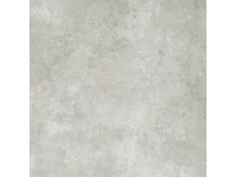 Bodenfliese Metallique Grau Feinsteinzeug glasiert - 120 cm x 120 cm x 1 cm