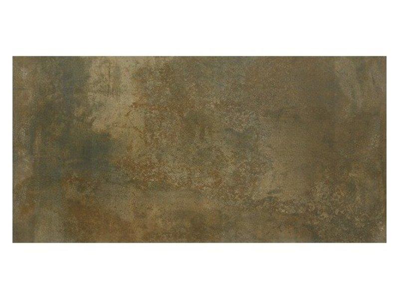 Bodenfliese Lique Kupfer Feinsteinzeug glasiert - 30 cm x 60 cm x 0,95 cm