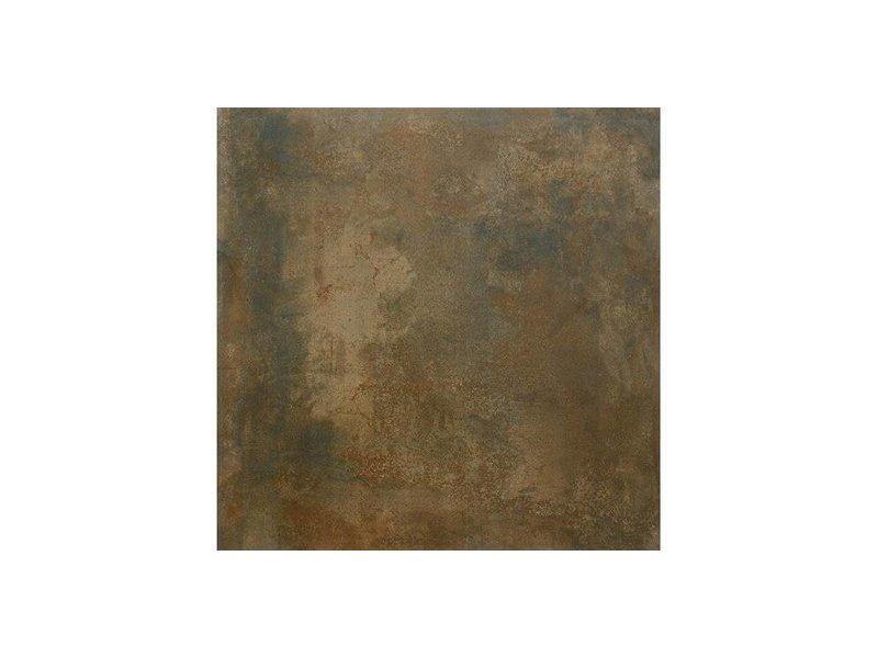 Bodenfliese Lique Kupfer Feinsteinzeug glasiert - 60 cm x 60 cm x 0,95 cm