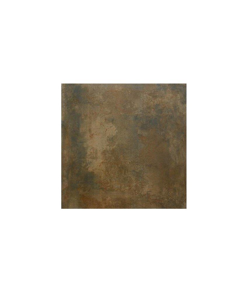 Bodenfliese Lique Kupfer Feinsteinzeug glasiert - 120 cm x 120 cm x 0,95 cm