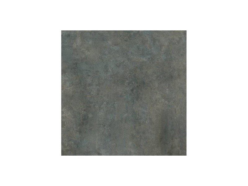 Bodenfliese Metallique Stahl Feinsteinzeug glasiert - 60 cm x 60 cm x 0,95 cm