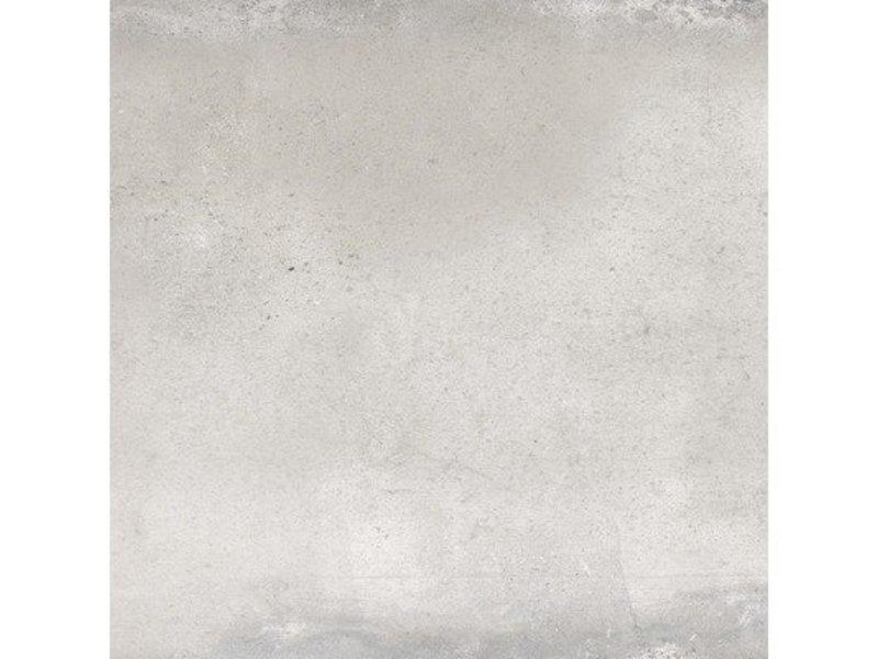 Bodenfliese Metropolitan Grau Feinsteinzeug glasiert matt - 60 cm x 60 cm x 1 cm