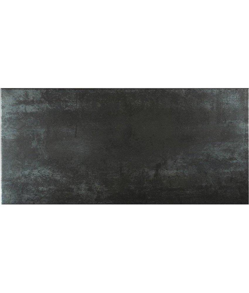 Bodenfliese Metropolitan Anthracite Feinsteinzeug glasiert matt - 30 cm x 60 cm x 1 cm
