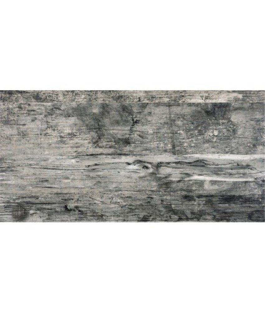 Bodenfliese Michigan Grau Braun Feinsteinzeug glasiert matt - 30 cm x 60 cm x 0,9 cm