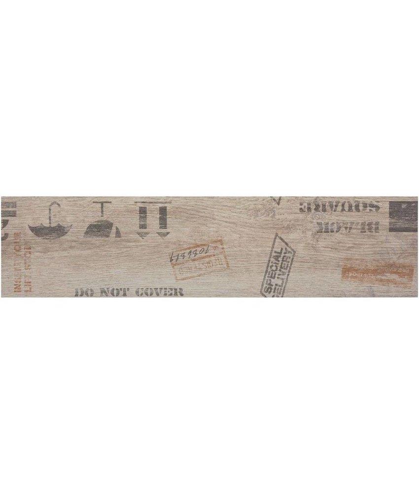 Bodenfliese Oregon White  Dekor Feinsteinzeug matt - 15 cm x 60 cm x 0,9 cm