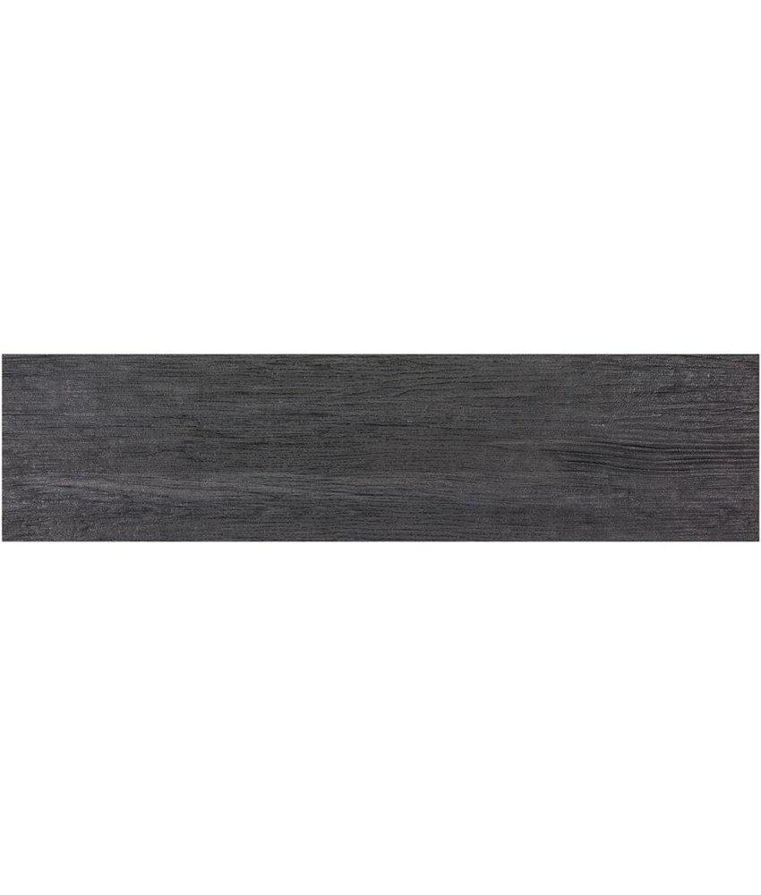 Bodenfliese Oregon Black Feinsteinzeug matt - 15 cm x 60 cm x 0,9 cm