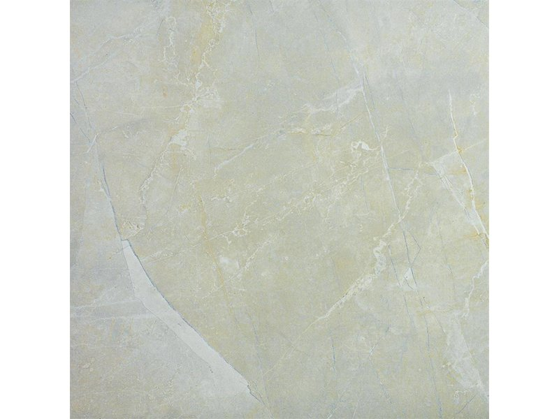 Bodenfliese Premium Marmoreal Ivory glasiert poliert - 60 cm x 60 cm x 0,9 cm