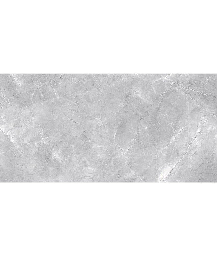Bodenfliese Premium Marble Messina Grau Poliert - 30 cm x 60 cm x 0,9 cm