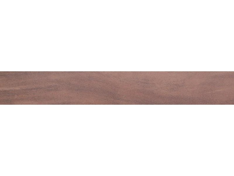 Sahara Braun Sockel Feinsteinzeug Lappato - 6 cm x 60 cm x 1 cm