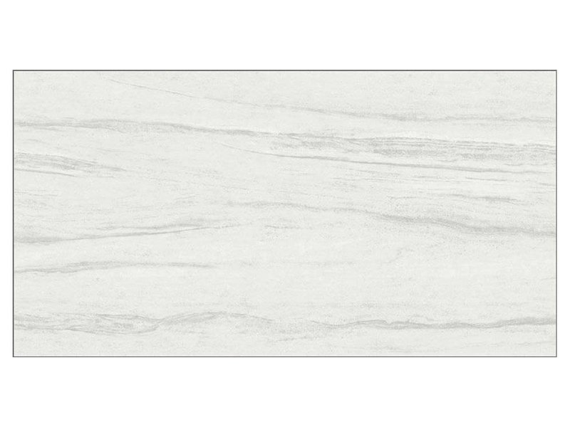 Bodenfliese Sahara Weiß Feinsteinzeug glasiert - 30 cm x 60 cm x 1 cm