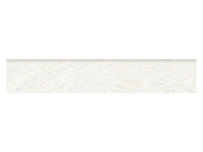 Sahara Weiß Sockel Feinsteinzeug poliert - 60 cm x 6 cm x 1 cm