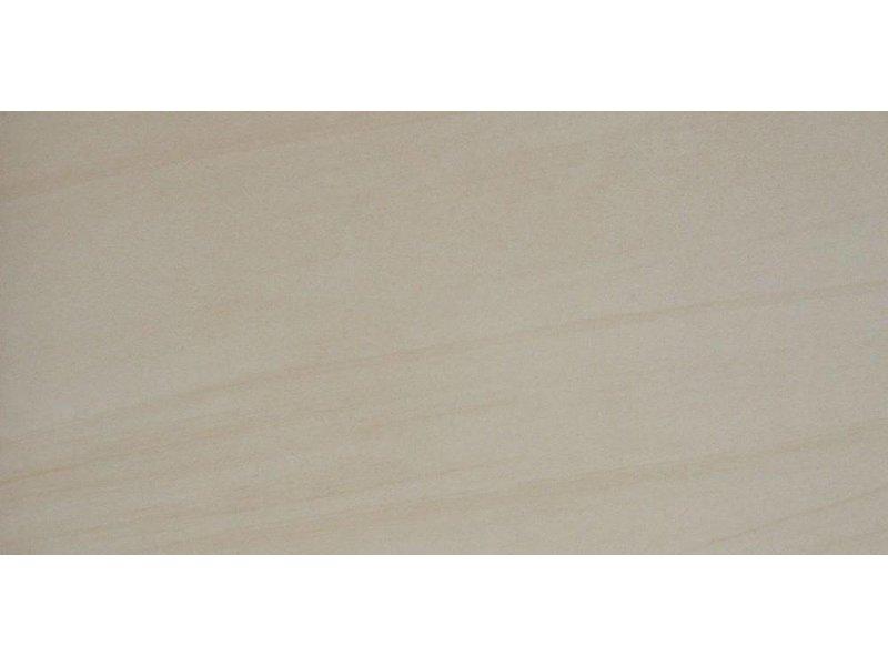 Bodenfliese Sandstone Sand Feinsteinzeug glasiert lappato - 45 cm x 90 cm x 1 cm