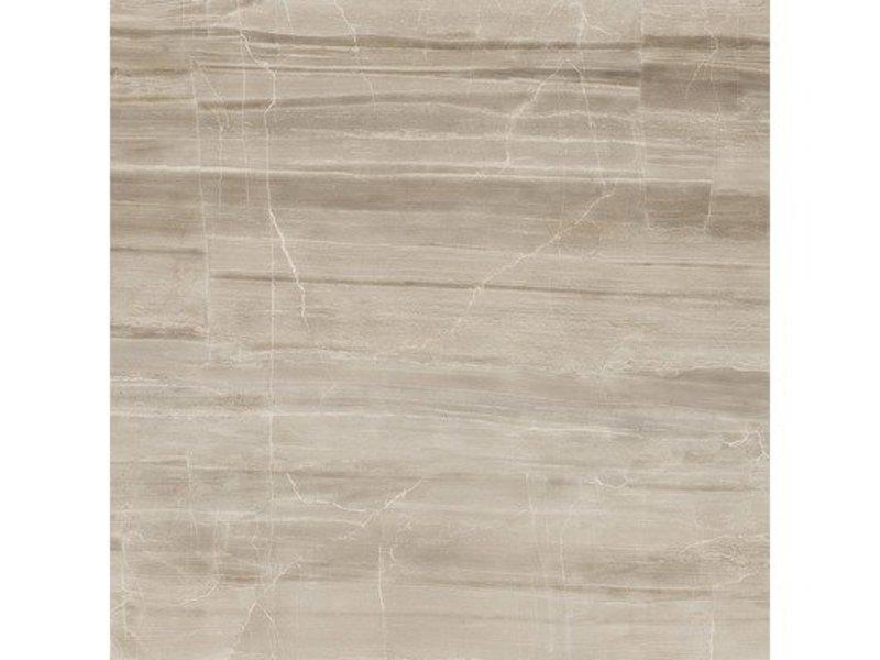 Bodenfliese Savoy Braun Feinsteinzeug glasiert matt - 40 cm x 40 cm x  0,9 cm