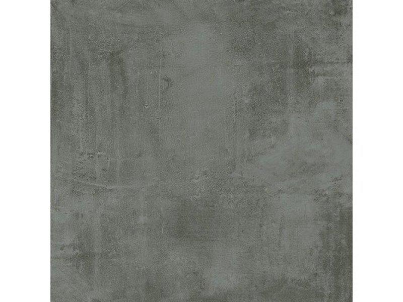 Bodenfliese Stark Graphit glasiert matt - 60 cm x 60 cm x 0,9 cm