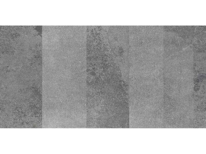 Bodenfliese Step Anthrazite  glasiert lappato - 60 cm x 120 cm x 1,1 cm