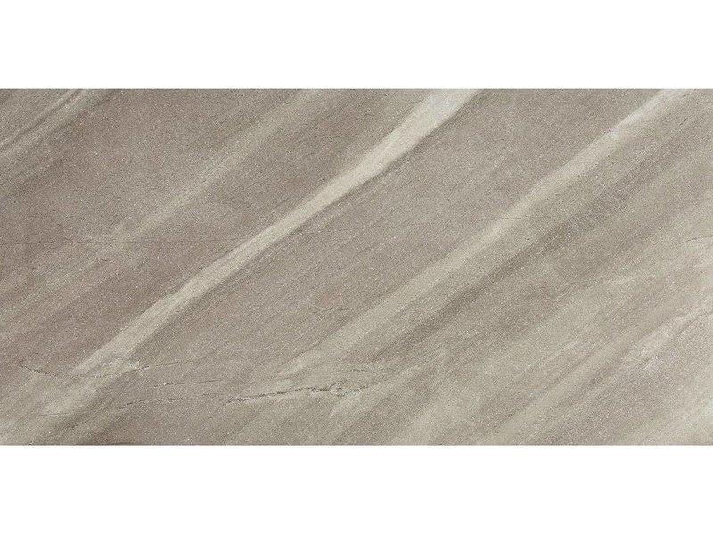 Bodenfliese Stonetec Taupe Feinsteinzeug glasiert matt - 50 cm x 100 cm x  1 cm