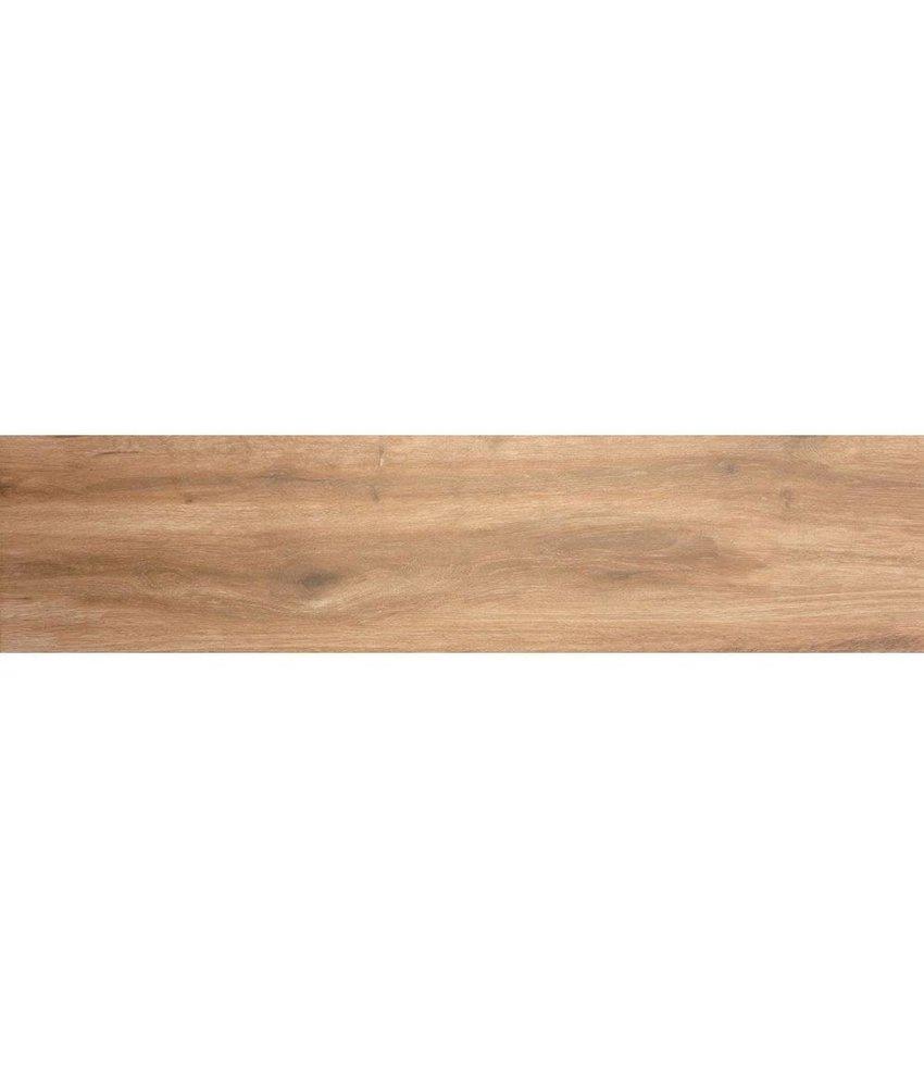Bodenfliese Strobus Wood Pine Feinsteinzeug matt - 22 cm x 90 cm x 1 cm