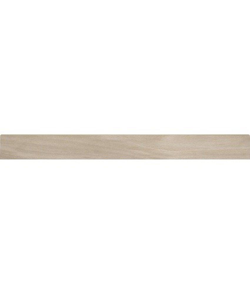 Tavla Beige Sockel Feinsteinzeug glasiert matt - 60 cm x 6 cm x 0,9 cm