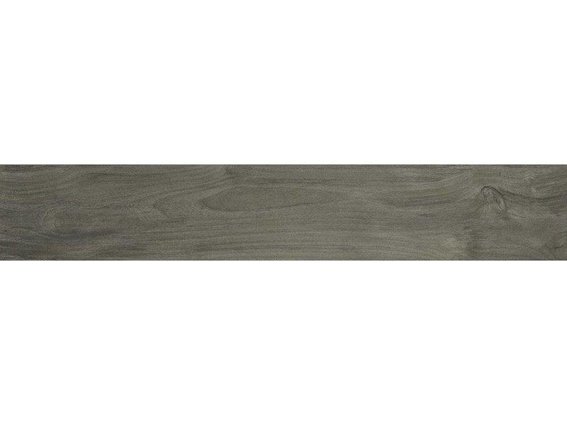Bodenfliese Tavla Gris Feinsteinzeug glasiert matt - 20 cm x 120 cm x 0,9 cm