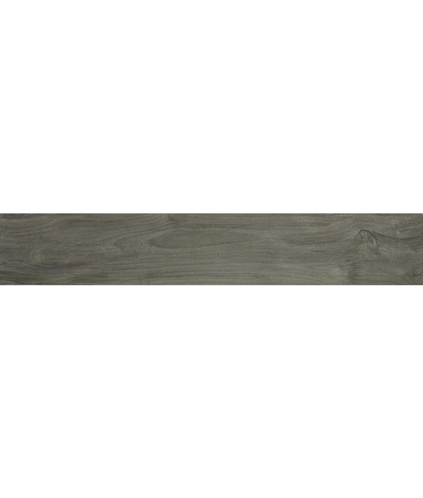 Bodenfliese Alva Gris Feinsteinzeug glasiert matt - 20 cm x 120 cm x 0,9 cm