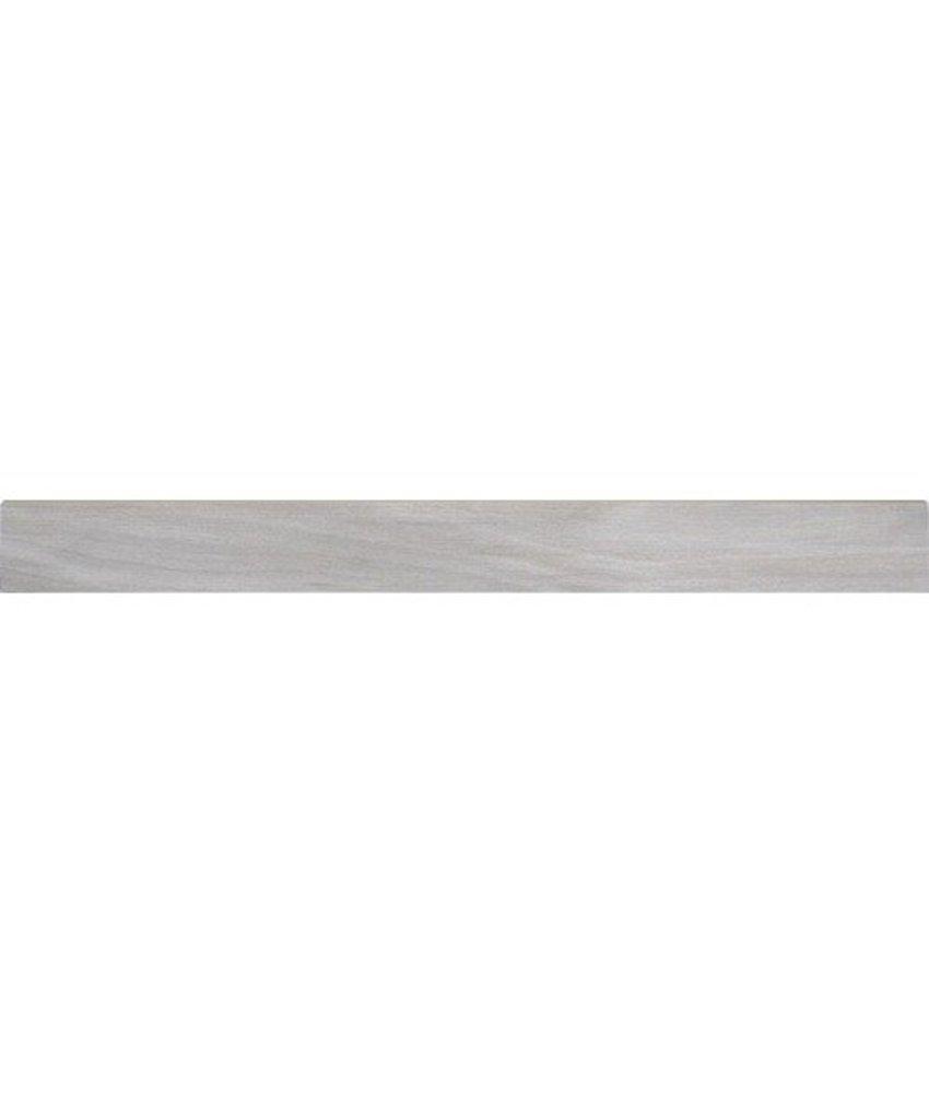 Tavla Gris Sockel Feinsteinzeug glasiert matt - 6 cm x 60 cm x 0,9 cm