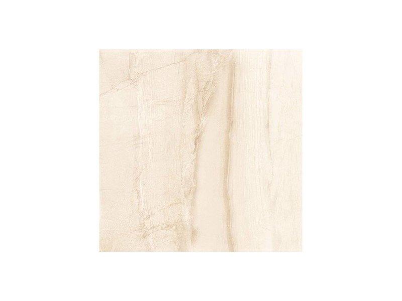 Bodenfliese Terra Cream Feinsteinzeug glasiert glänzend - 45 cm x 45 cm x  0,8 cm