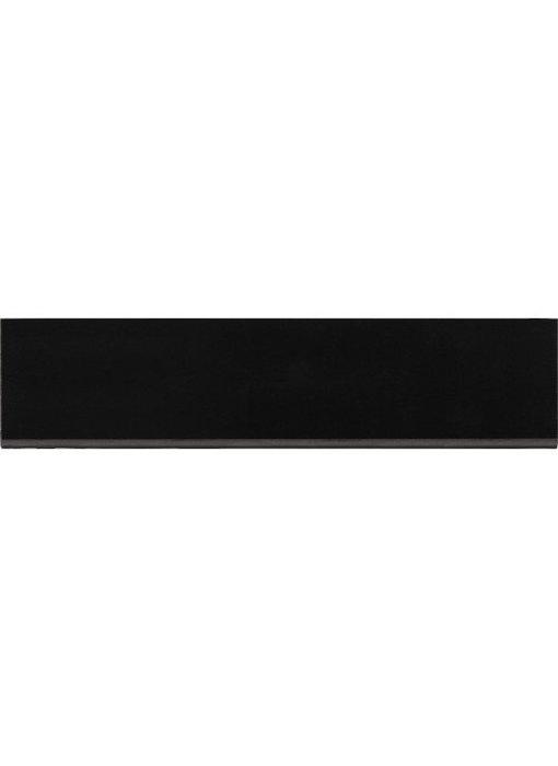 Sockel Uni Schwarz Feinsteinzeug poliert - 7 cm x 30 cm x 1 cm