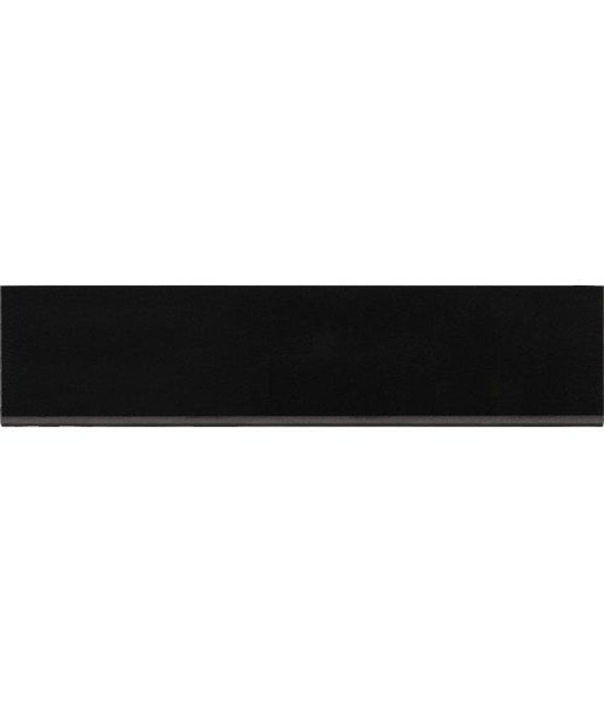 Sockel Uno Schwarz Feinsteinzeug poliert - 7 cm x 60 cm x 1 cm