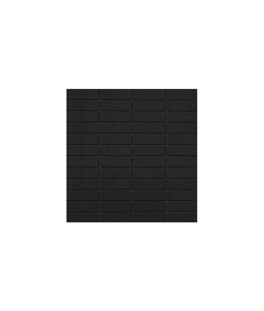 Mosaik Uni Schwarz Feinsteinzeug poliert - 30 cm x 30 cm x 1 cm