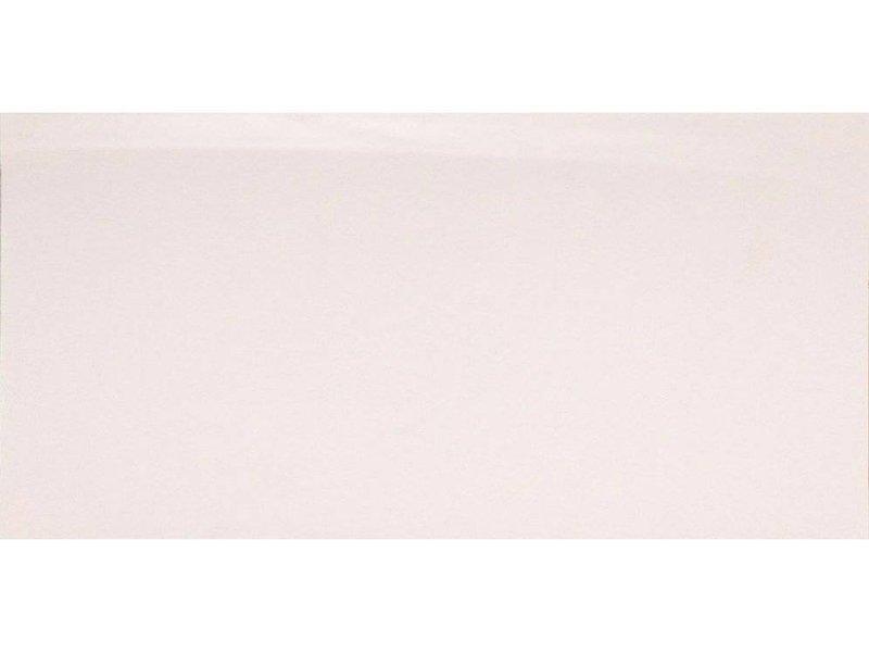 Bodenfliese Uno Weiß Feinsteinzeug poliert - 30 cm x 60 cm x 1 cm