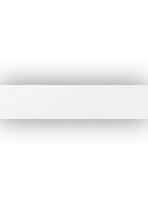 Sockel Uni Weiß Feinsteinzeug poliert - 7 cm x 60 cm x 1 cm