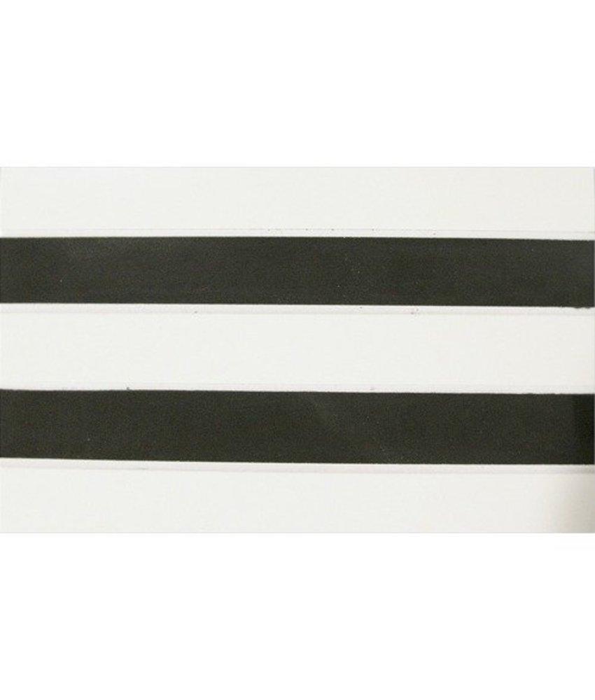 Bordüre Linie Feinsteinzeug poliert - 30 cm x 15 cm x 1 cm