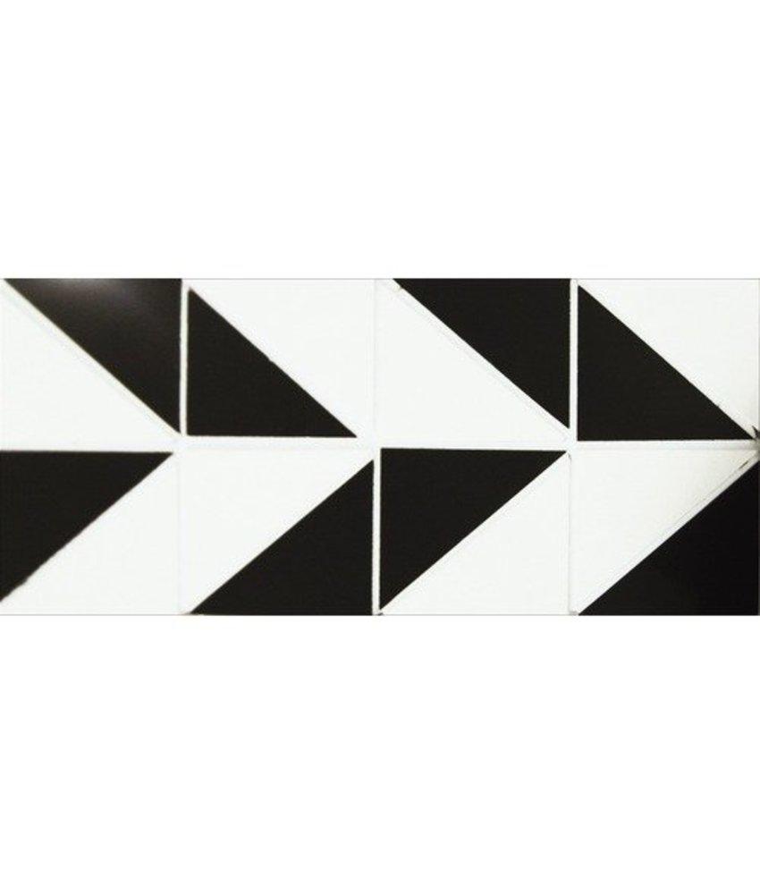 Bordüre Raute Feinsteinzeug poliert - 30 cm x 10 cm x 1 cm