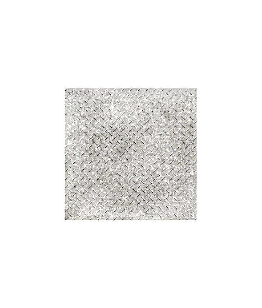 Mosaikfliese Varese Iron Cenere Feinsteinzeug glasiert matt - 60 cm x 60 cm x 1 cm