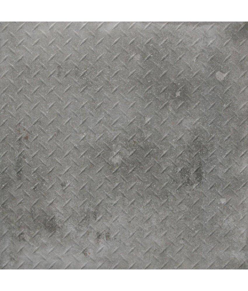 Mosaikfliese Varese Iron Grigio Feinsteinzeug glasiert matt - 60 cm x 60 cm x 1 cm