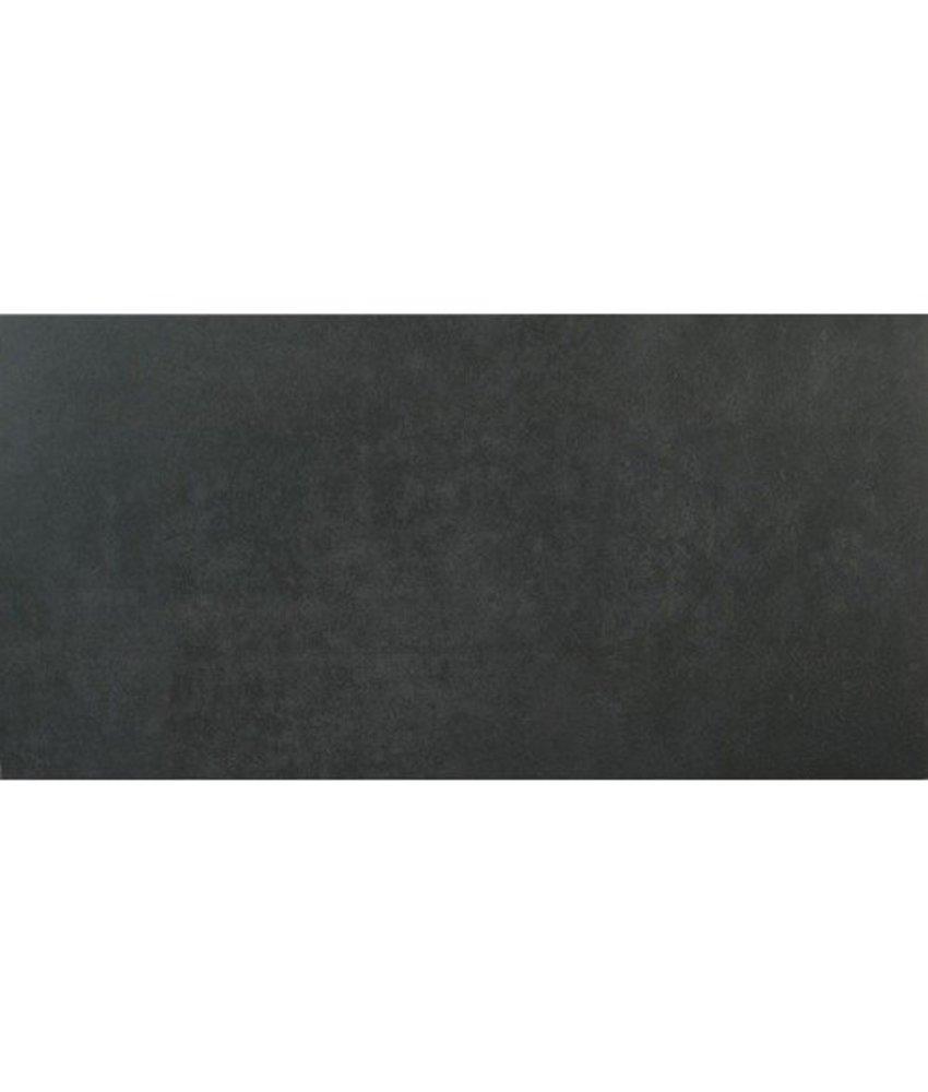Bodenfliese Sion Anthrazit glasiert matt - 60 cm x 120 cm x 1 cm