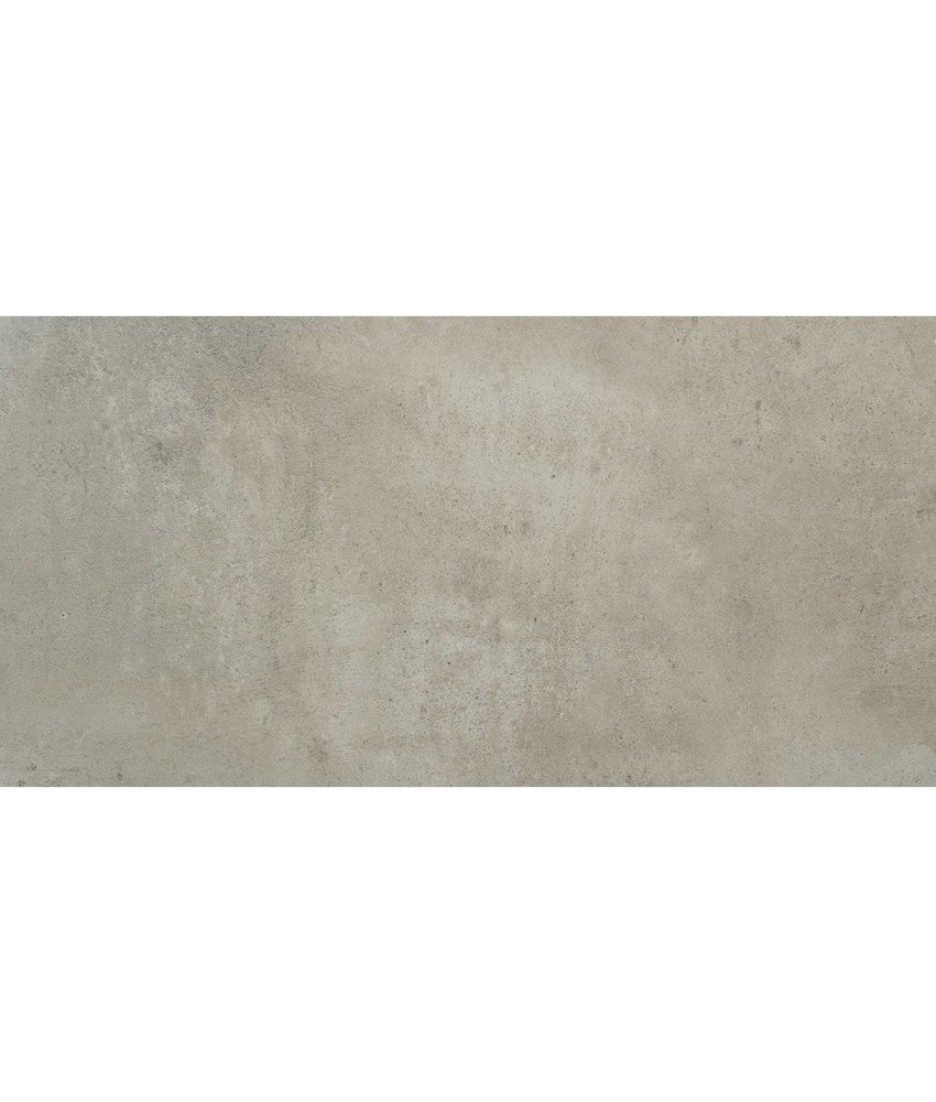 Bodenfliese Vision Grau glasiert matt - 60 cm x 120 cm x 1 cm