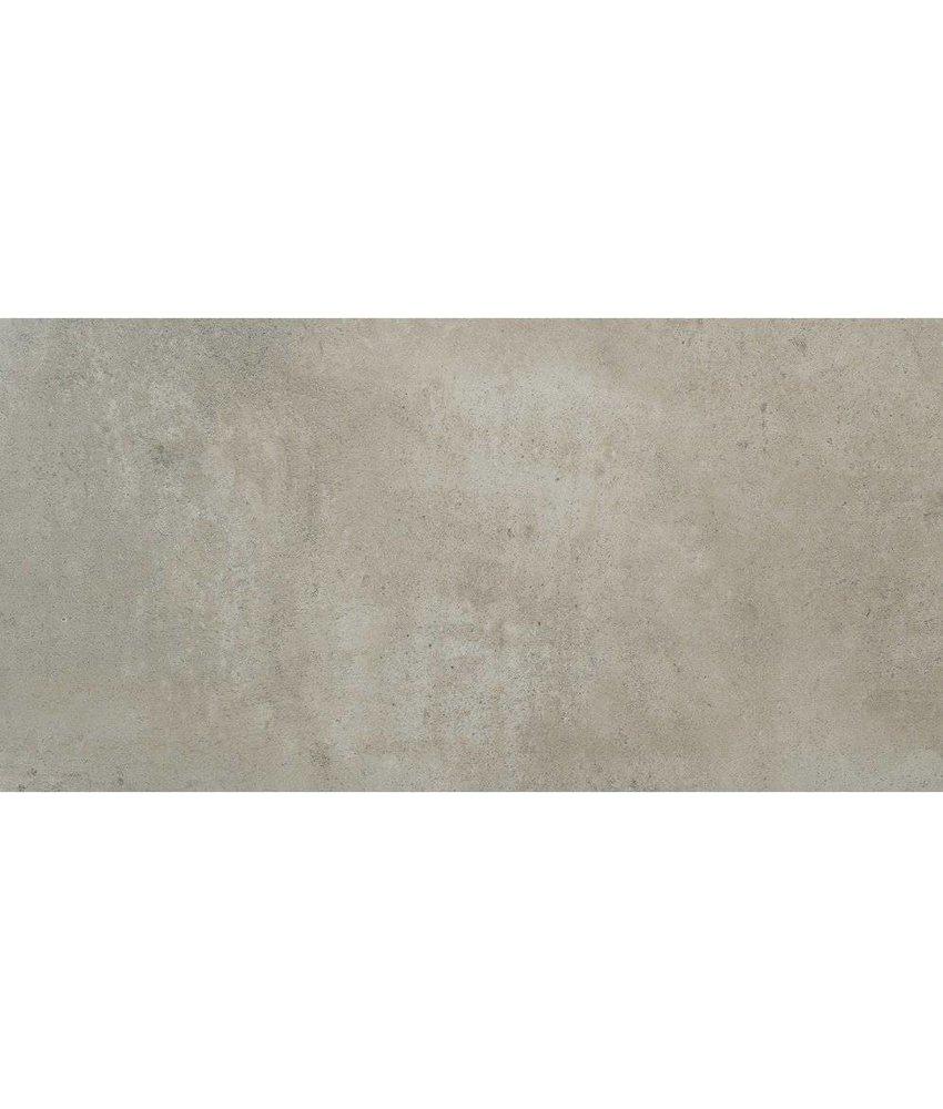 Bodenfliese Vision Grau glasiert matt - 120 cm x 240 cm x  0,9 cm
