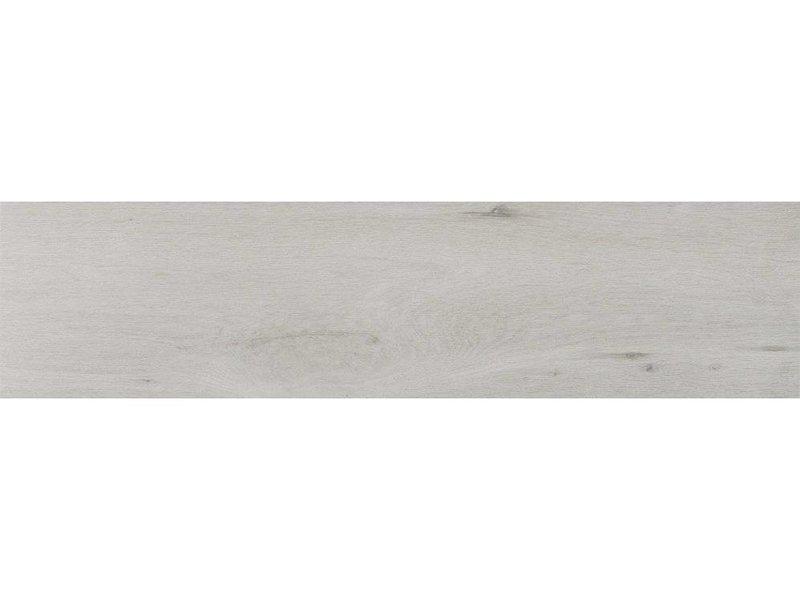 Bodenfliese Woodland Perla Feinsteinzeug glasiert matt - 25 cm x 100 cm x  0,8 cm