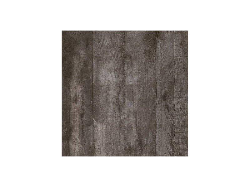 Bodenfliese York Graphit Feinsteinzeug glasiert matt - 60 cm x 60 cm x 1 cm
