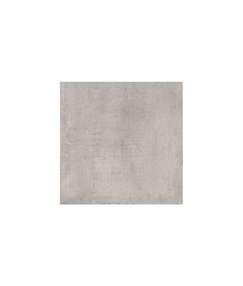 Bodenfliese Jorc Grau Feinsteinzeug glasiert matt - 60 cm x 60 cm x 1 cm