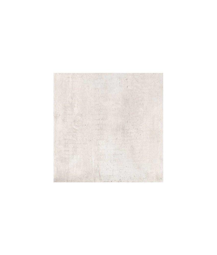 Bodenfliese Jorc Weiß Feinsteinzeug glasiert matt - 60 cm x 60 cm x 1 cm