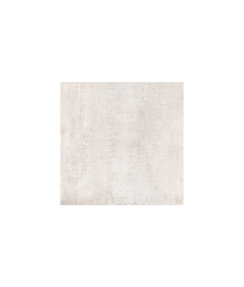 Bodenfliese York Weiß Feinsteinzeug glasiert matt - 60 cm x 60 cm x 1 cm
