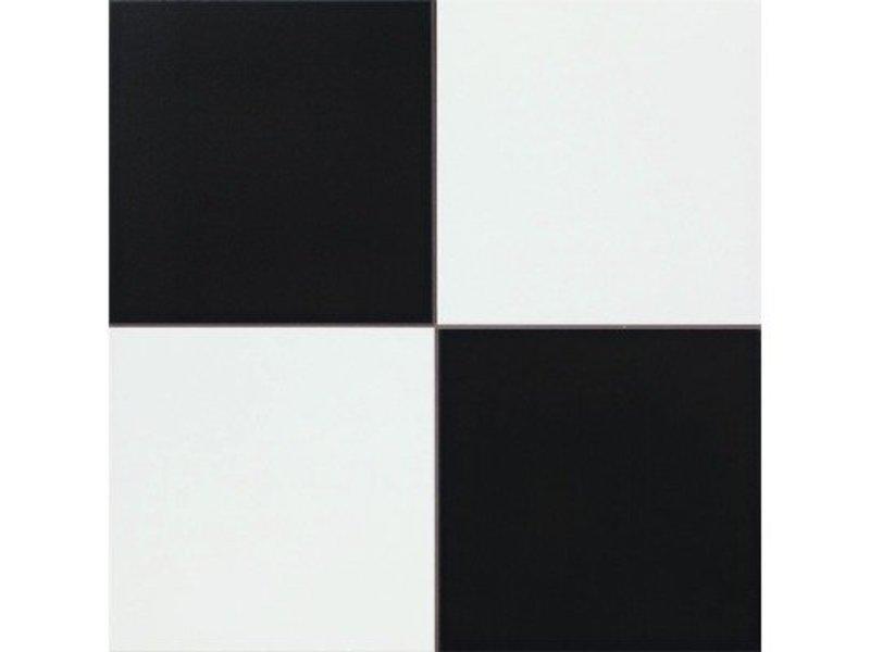 Bodenfliese Decora Chess Feinsteinzeug matt - 45 cm x 45 cm x  1 cm