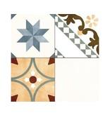 Bodenfliese Decora Stamford Feinsteinzeug matt - 45 cm x 45 cm x  1 cm