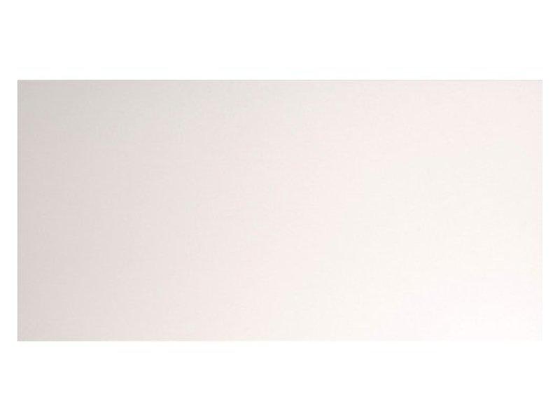 Wandfliese Alaska Weiß Uni glänzend - 30 cm x 90 cm x 1,15 cm